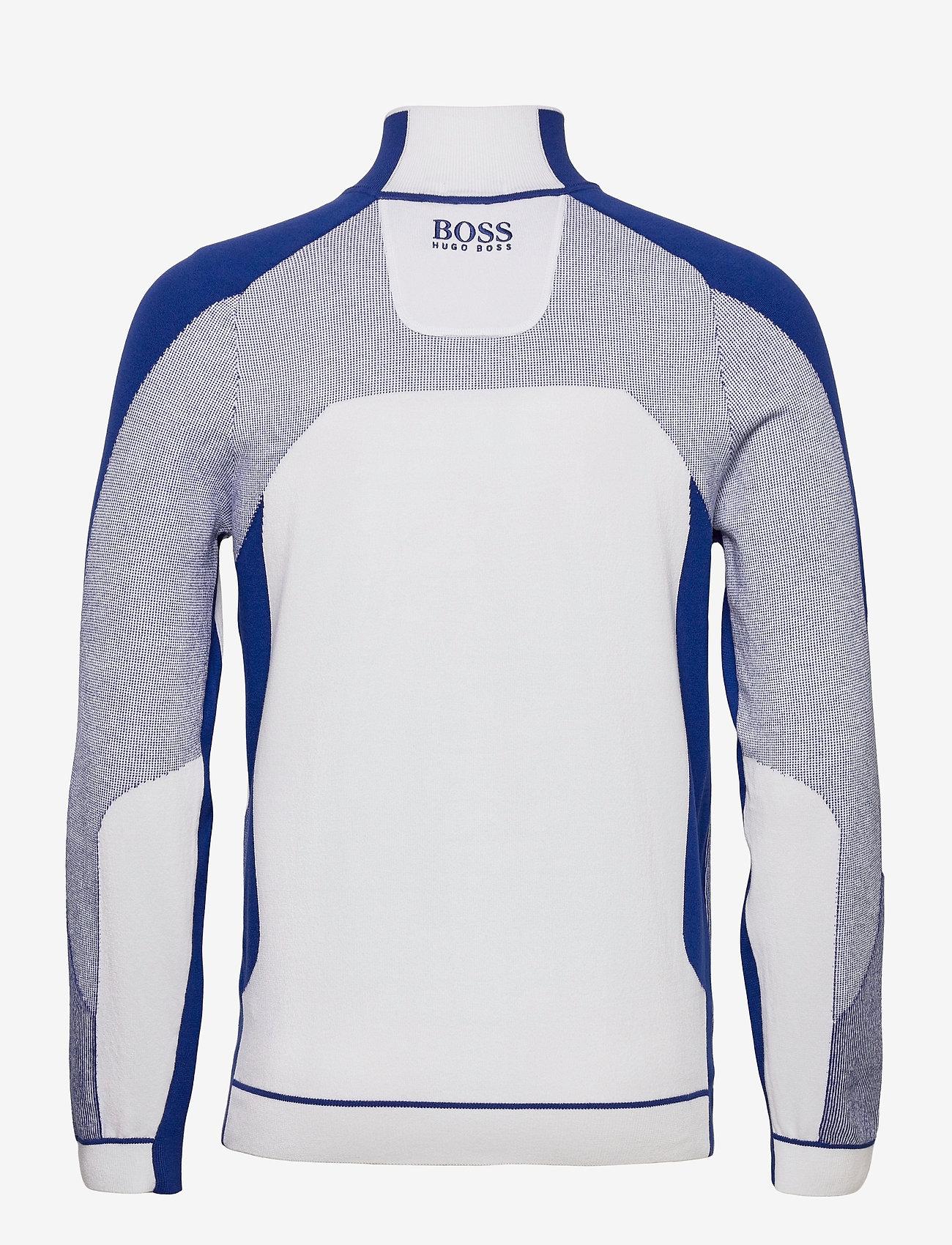 BOSS - Zordi - half zip - white - 1