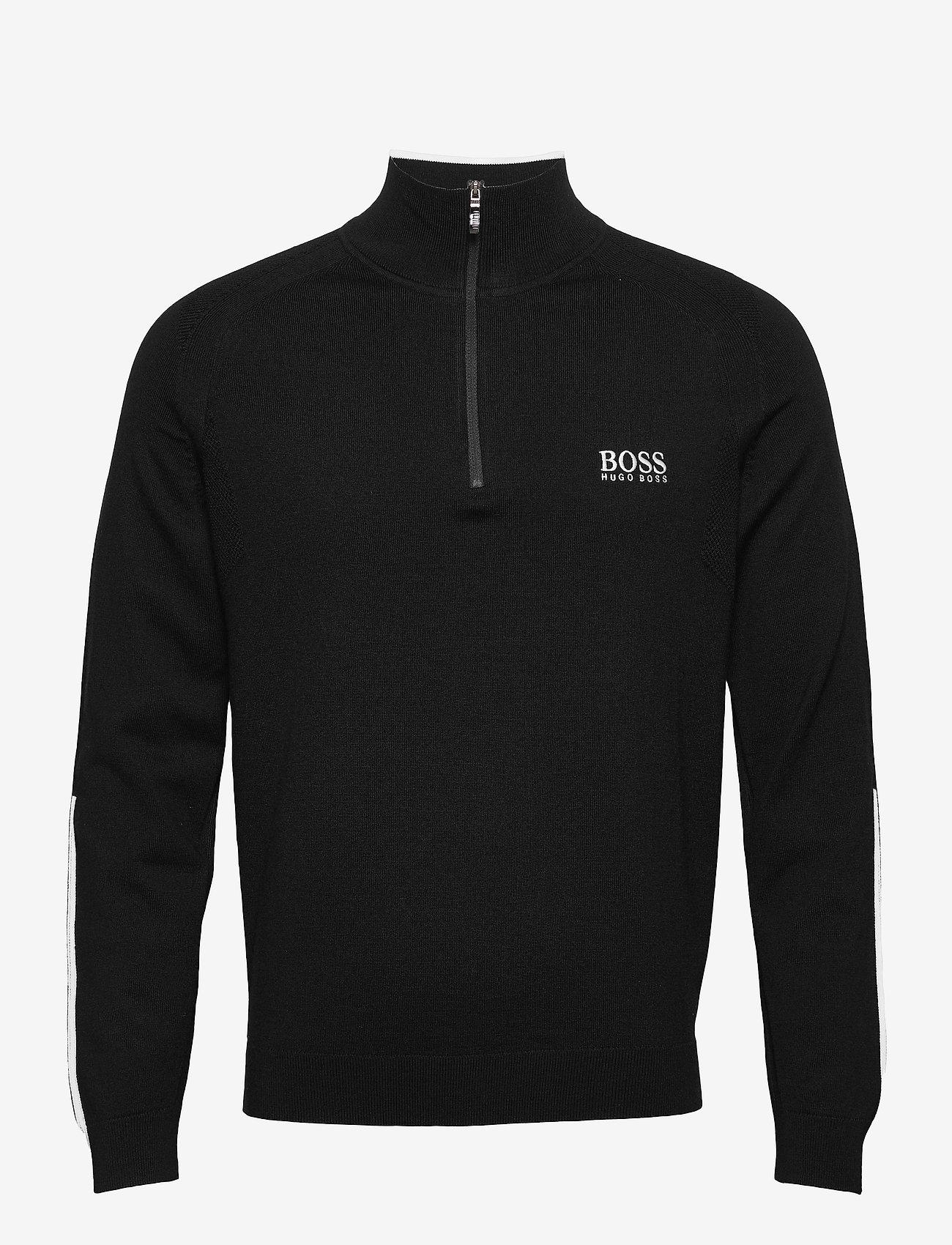 BOSS - Zenno - half zip - black - 0