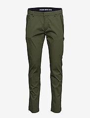 BOSS - Rogan4-1 - dressbukser - dark green - 0