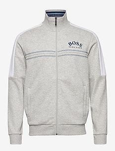 Skaz - track jackets - light/pastel grey