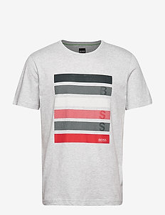Tee 2 - kortærmede t-shirts - light/pastel grey
