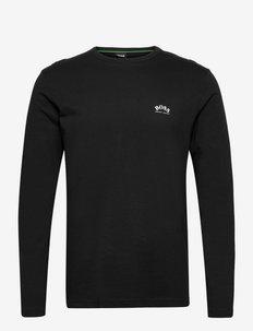 Togn Curved - långärmade tröjor - black