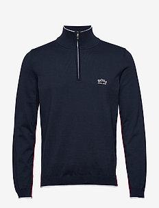 Ziston_W20 - half zip-trøjer - navy