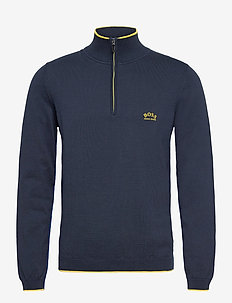 Ziston_S21 - half zip-trøjer - navy