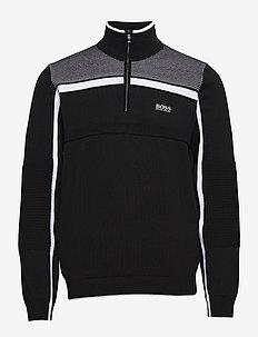 Zemi - half zip-trøjer - black