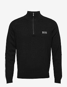 Zenno - half zip-tröjor - black