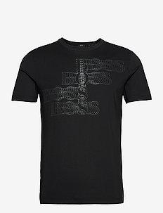 Teetech 1 - t-shirts - black