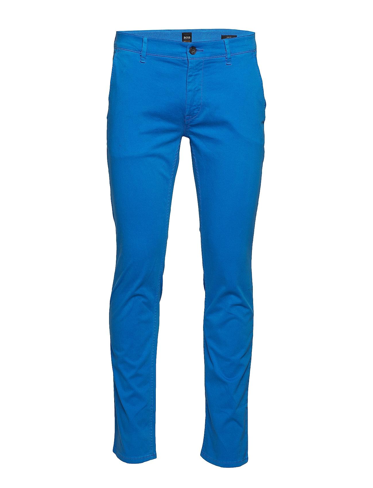 HUGO BOSS Schino-Slim D Chinos Hosen Blau BOSS CASUAL WEAR