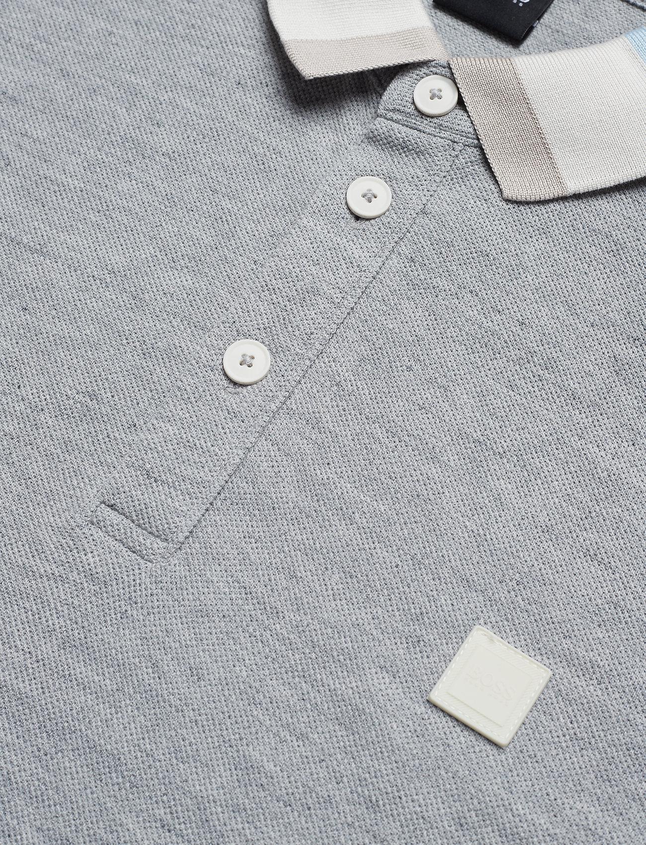 Boss Polarized - Poloskjorter Open Grey