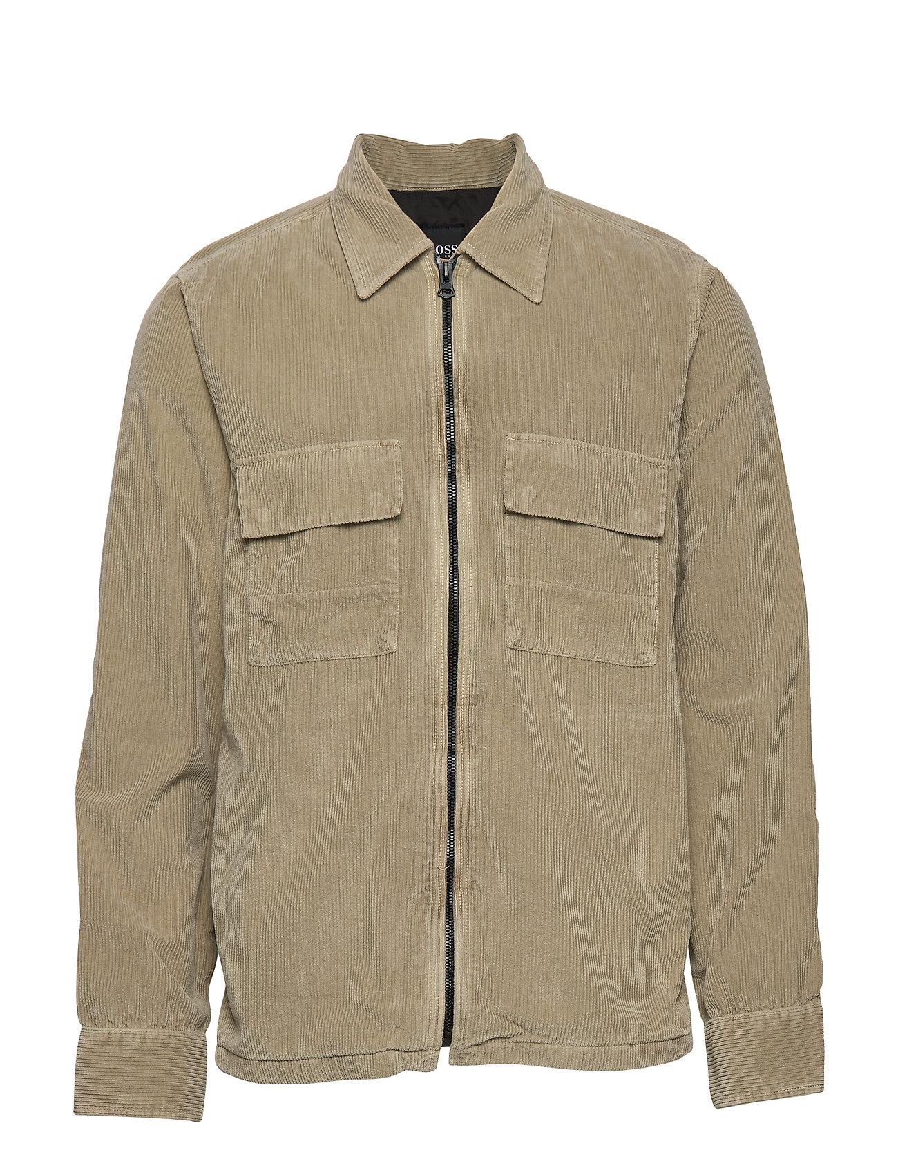 Boss Casual Wear Lovel-zip_2 - MEDIUM BEIGE