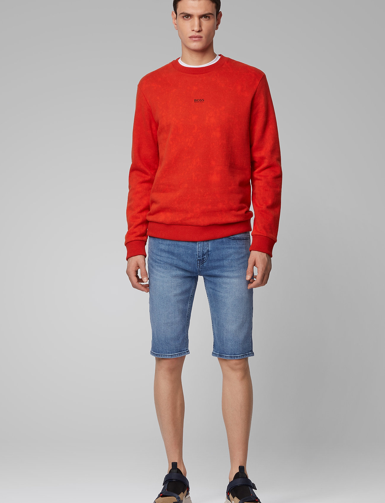 BOSS - Taber-Shorts BC-C - denim shorts - bright blue - 0