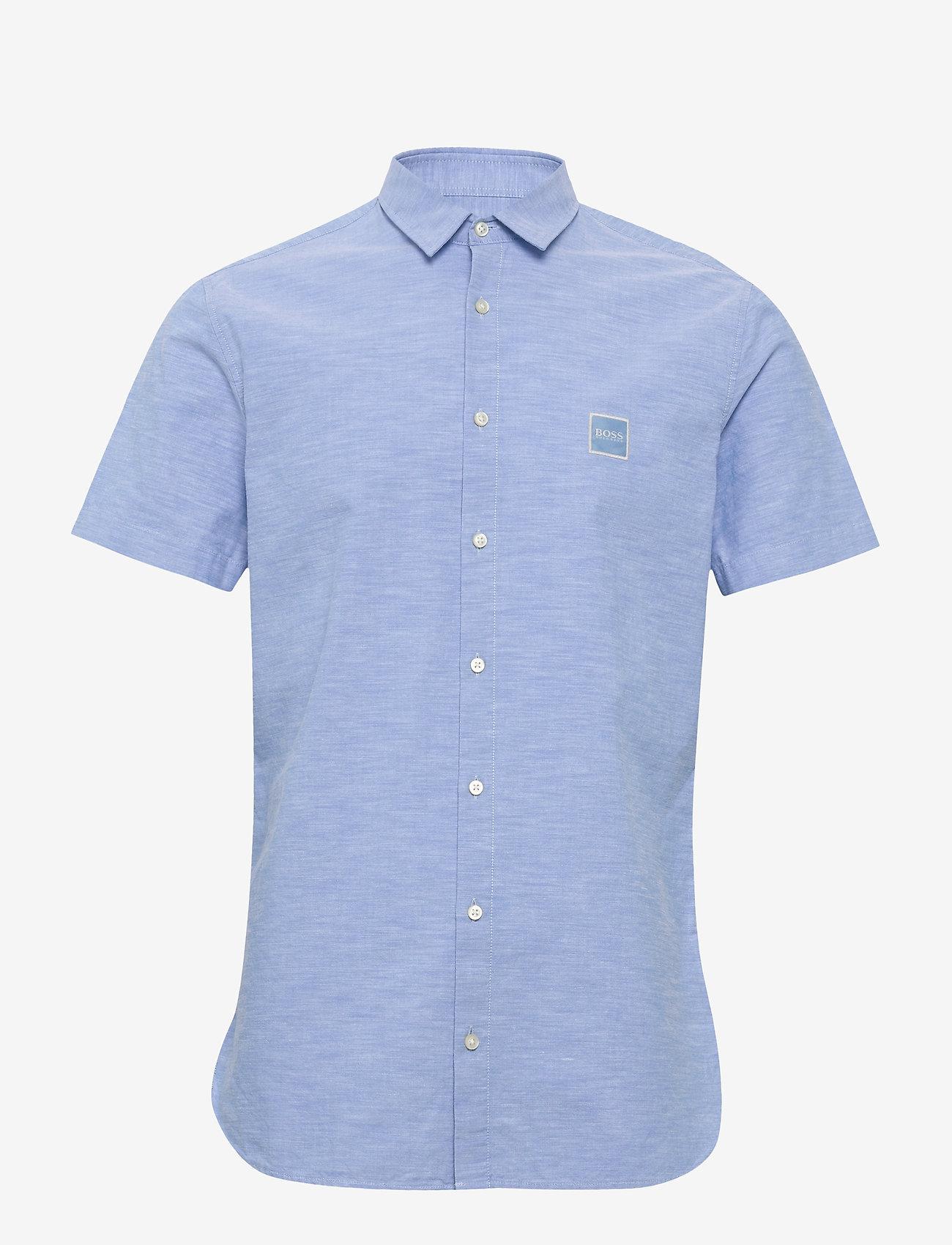 BOSS - Magneton_1-short - basic skjorter - open blue - 0