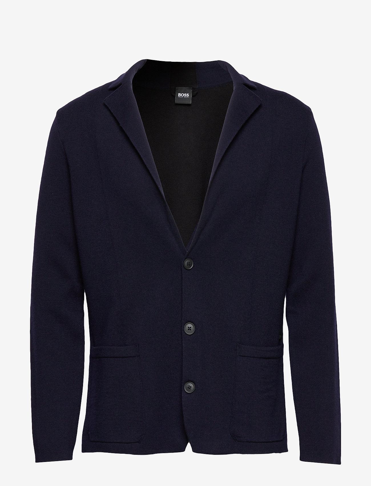 BOSS - Ablesaro - enkeltradede blazere - dark blue - 0