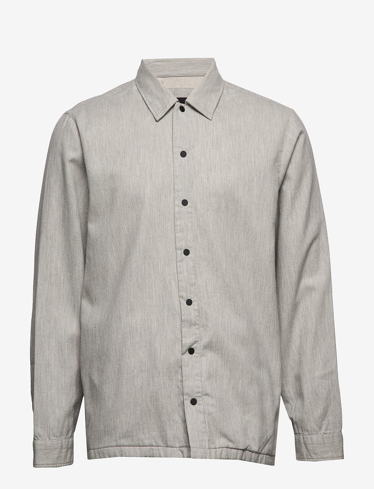 BOSS - Latch - basic skjorter - medium grey - 0
