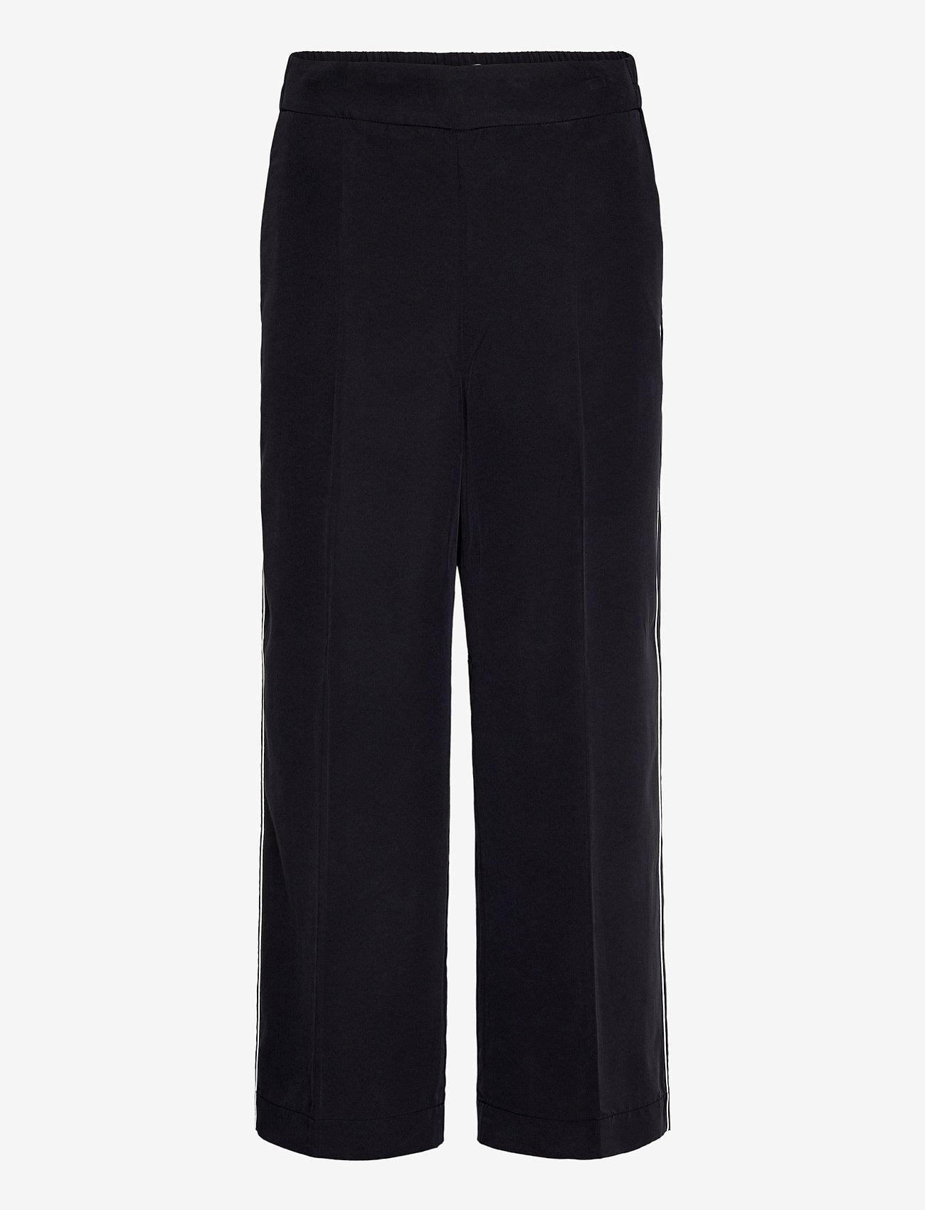 BOSS - Siamo1 - bukser med brede ben - open blue - 0