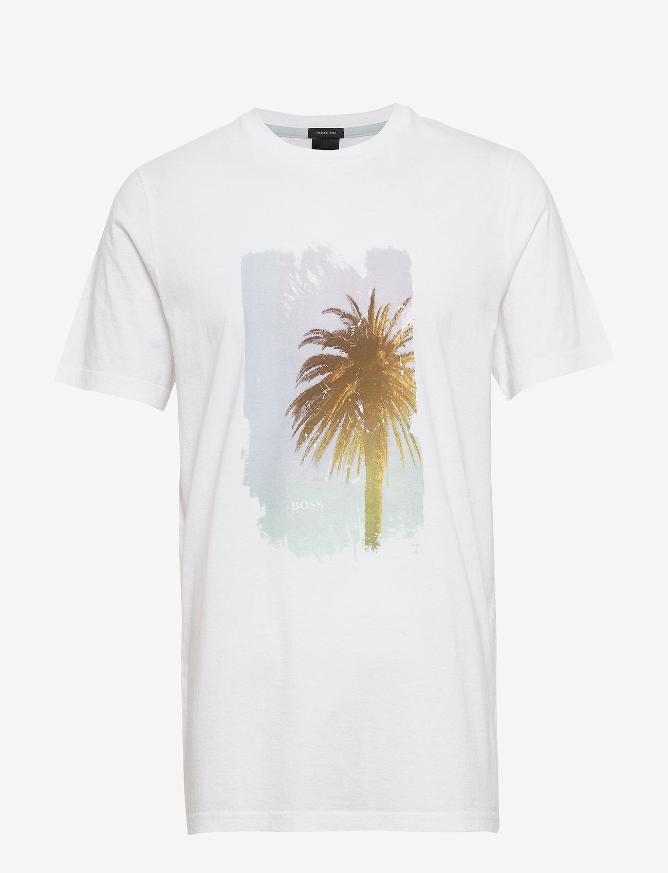 BOSS - TMix - kortærmede t-shirts - natural - 0