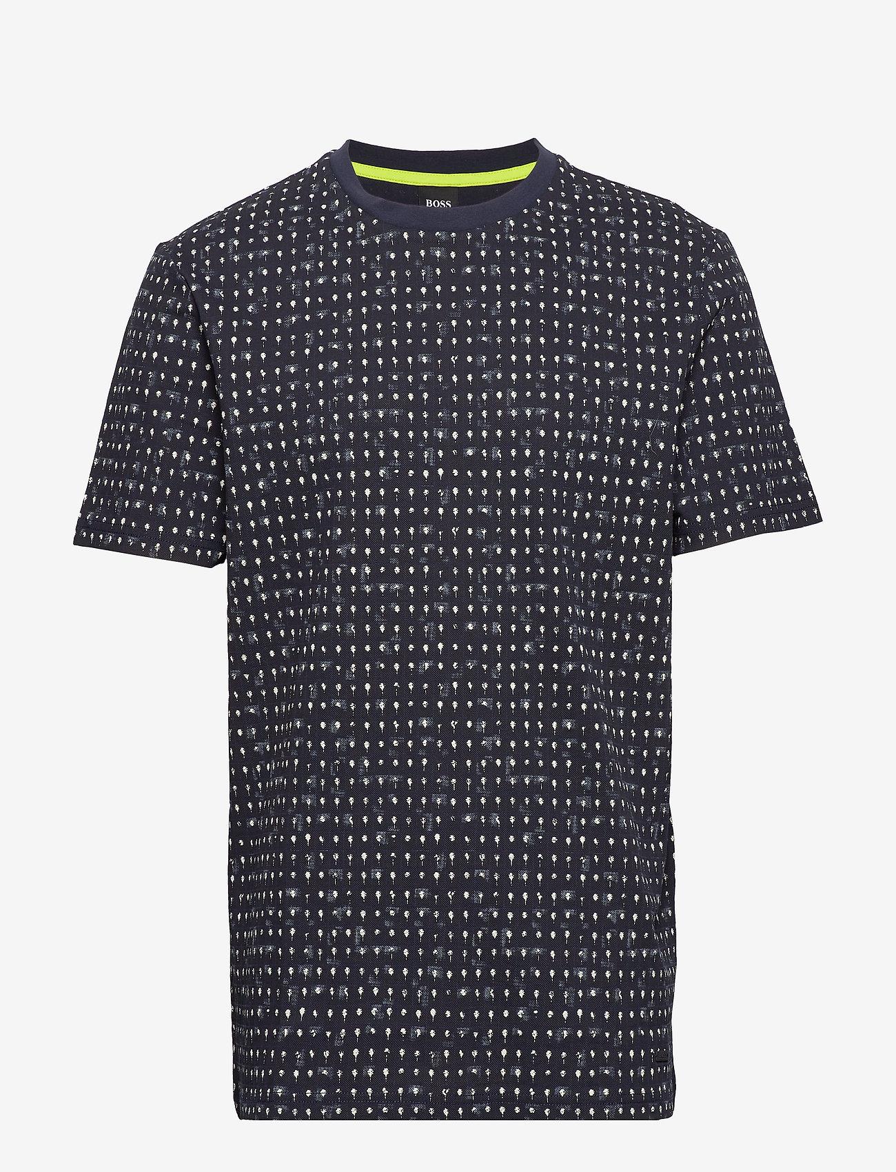 BOSS - Tepol - kortærmede t-shirts - dark blue - 0