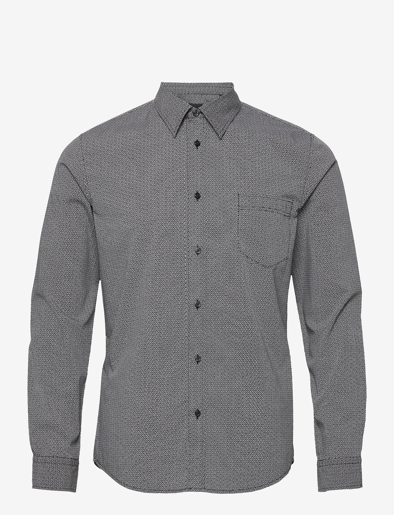 BOSS - Marvyn - chemises décontractées - black - 0