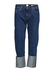 J70 Berlin Boyfriend Jeans Blå BOSS CASUAL WEAR