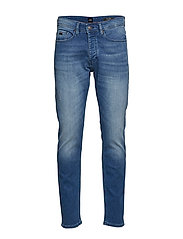 Taber Bc-P Slimmade Jeans Blå BOSS CASUAL WEAR