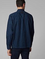 BOSS - Lovel-zip_3 - denimjakker - dark blue - 6