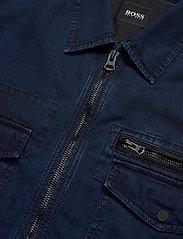 BOSS - Lovel-zip_3 - denimjakker - dark blue - 7