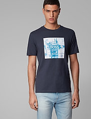 BOSS - Troaar 5 - kortærmede t-shirts - dark blue - 3