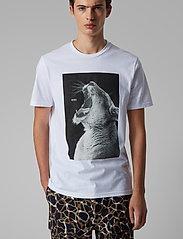 BOSS - Troaar 2 - kortærmede t-shirts - white - 0
