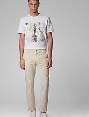 BOSS - Troaar 4 - kortærmede t-shirts - white - 3