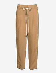 BOSS - Sarosy1-D - casual bukser - medium beige - 0