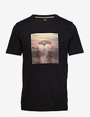 BOSS - Troaar 5 - kortærmede t-shirts - black - 0