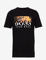 BOSS - TSummer 6 - kortærmede t-shirts - black - 0