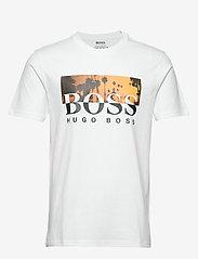 BOSS - TSummer 6 - kortærmede t-shirts - white - 0