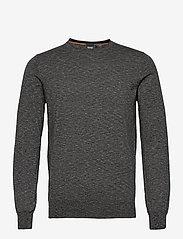 BOSS - Kabiron - tricots basiques - dark grey - 0
