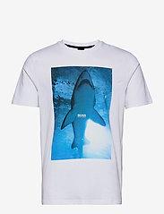 BOSS - TNoah 1 - t-shirts à manches courtes - natural - 0
