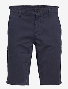 Schino-Slim Shorts - chinos shorts - dark blue