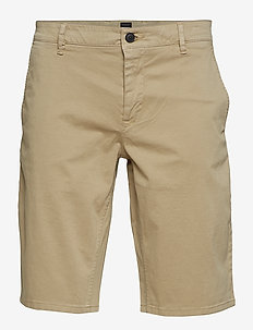 Schino-Slim Shorts - chinos shorts - medium beige