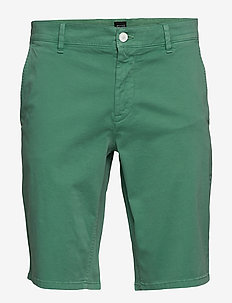 Schino-Slim Shorts - OPEN GREEN