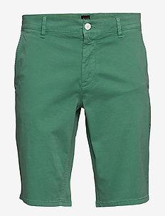 Schino-Slim Shorts - OPEN GREEN