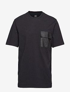 Tyv - kortærmede t-shirts - black