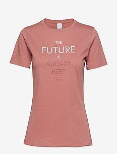 Tecut - t-shirts - light/pastel red
