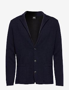Ablesaro - enkeltradede blazere - dark blue