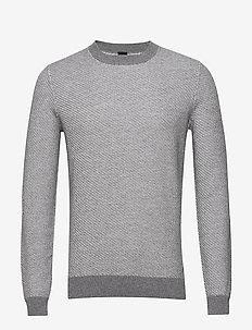 Klaremont - basic strik - medium grey
