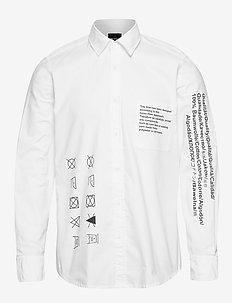 Relegant_2 - basic skjorter - white