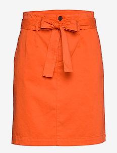 Briella-D - midinederdele - bright orange