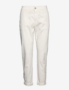 Solga2-D - straight jeans - open white