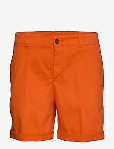 Saclea-D - chino shorts - bright orange