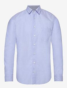 Mypop_2 - basic skjorter - open blue