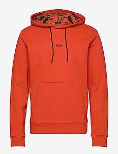 WKapok - basic sweatshirts - dark orange