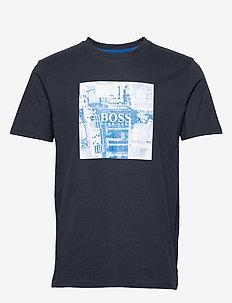 Troaar 5 - kortærmede t-shirts - dark blue